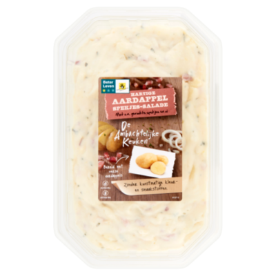 Ambachtelijke Keuken Aardappelsalade met spekjes
