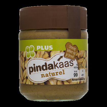 Huismerk Pindakaas naturel