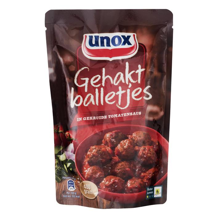 Unox Gehaktballetjes in gekruide tomatensaus
