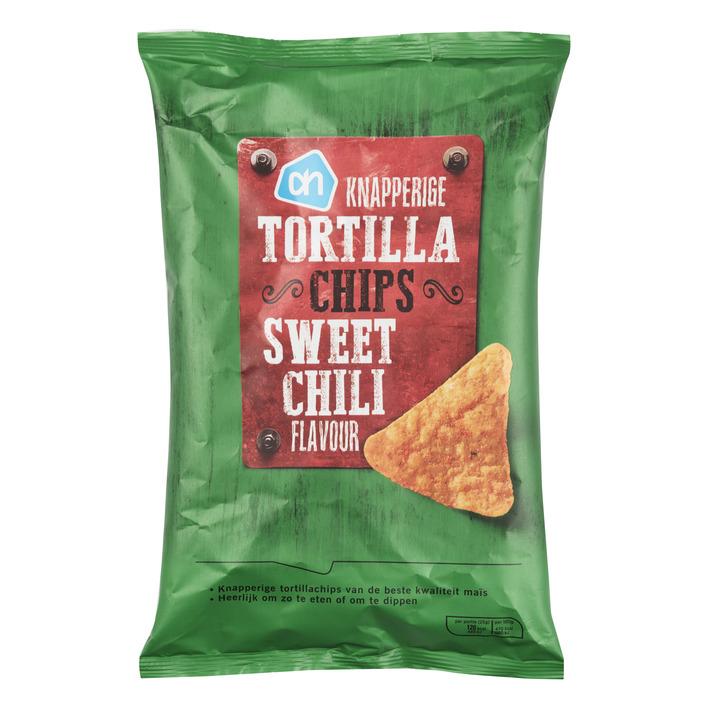 Huismerk Knapperige tortilla chips sweet chili