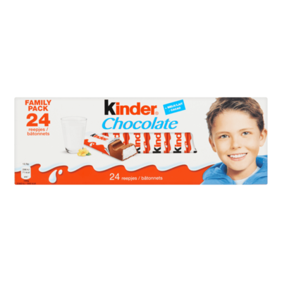 Kinder Chocolate 24 Reepjes Family Pack
