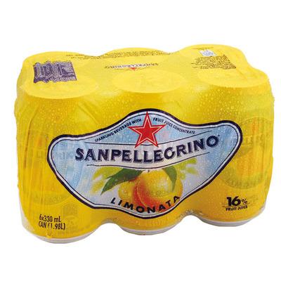 San Pellegrino Limonata 6x 33 centiliter