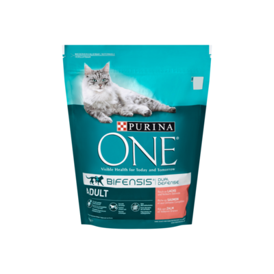 Purina ONE Bifensis Dual Defense Adult Zalm