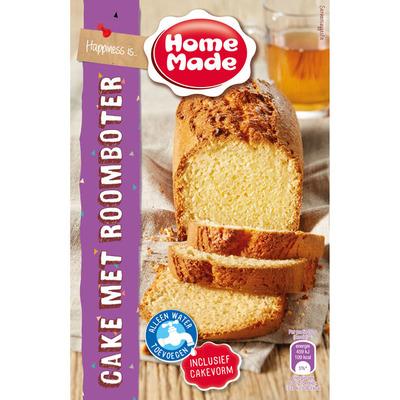 Homemade Cake met roomboter