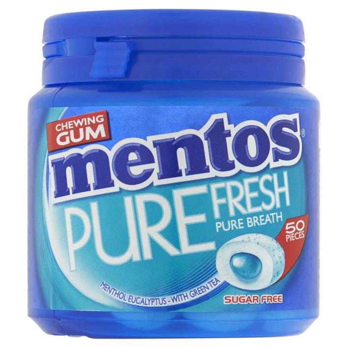 Mentos Gum Pure fresh menthol eucalyptus