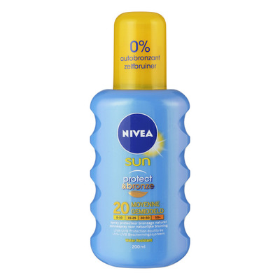 Nivea Sun Protect & bronze spray SPF 20