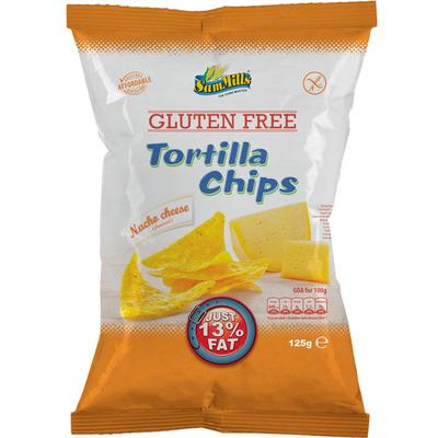 SamMills Tortilla chips nacho cheese glutenvrij
