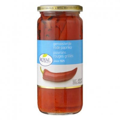 Royal Geroosterde rode paprika