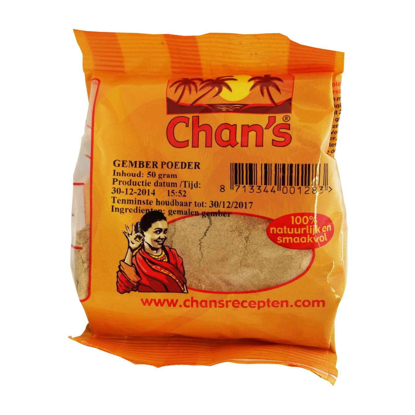 Chan's Gember Poeder