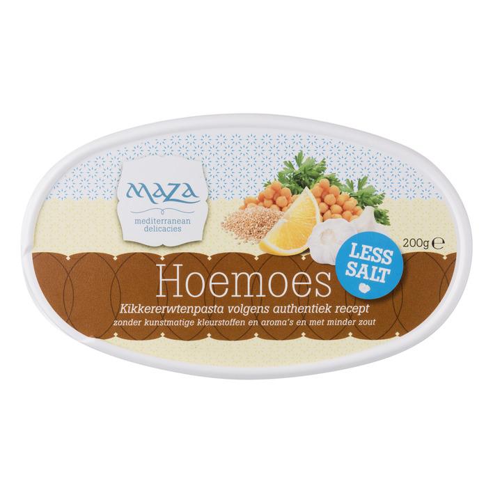 Maza Hoemoes less salt