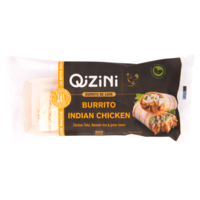 Qizini Burittos Indian chicken
