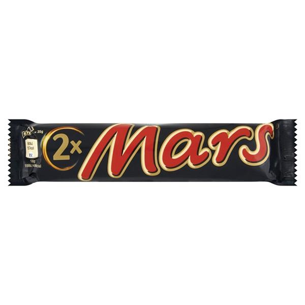 Mars Chocolade Single 2-Pack