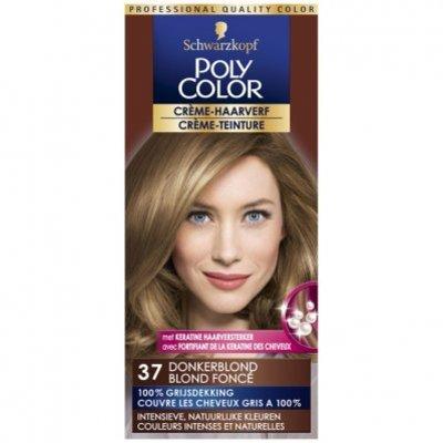 Schwarzkopf Poly color haarverf donkerblond 37