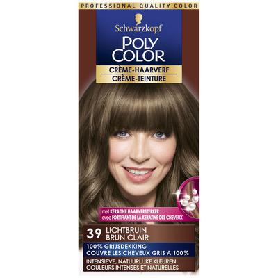 Schwarzkopf Poly color haarverf lichtbruin 39