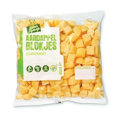 aardappel blokjes