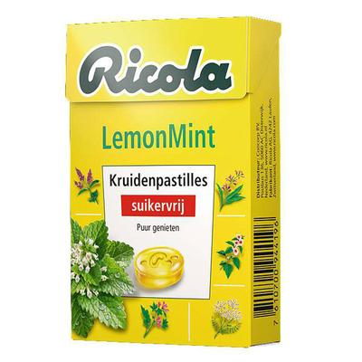 Ricola Lemonmint suikervrij