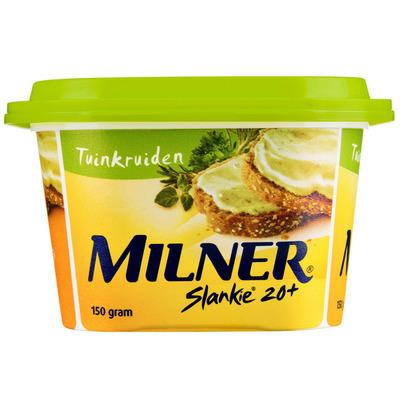 Milner Slankie smeerkaas tuinkruiden 20+