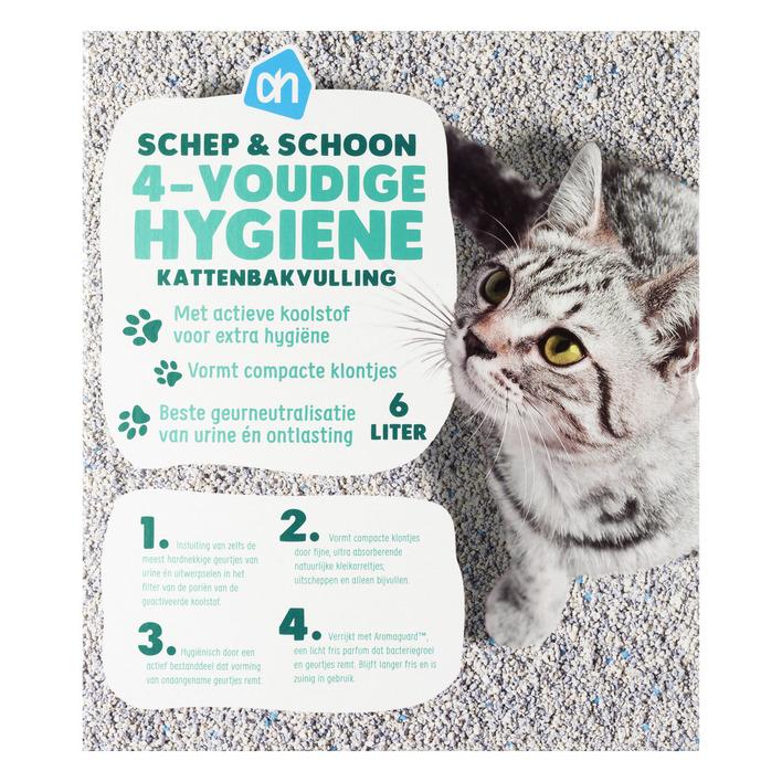 Huismerk Schep & schoon 4-voudige hygiëne