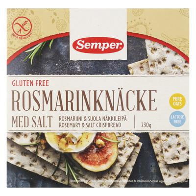 Semper Rosmarinknacke glutenvrij