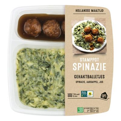 Huismerk Hollandse stamppot spinazie