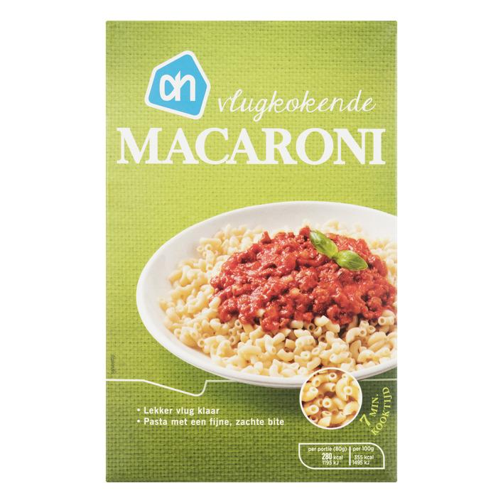 Huismerk Macaroni vlugkokend