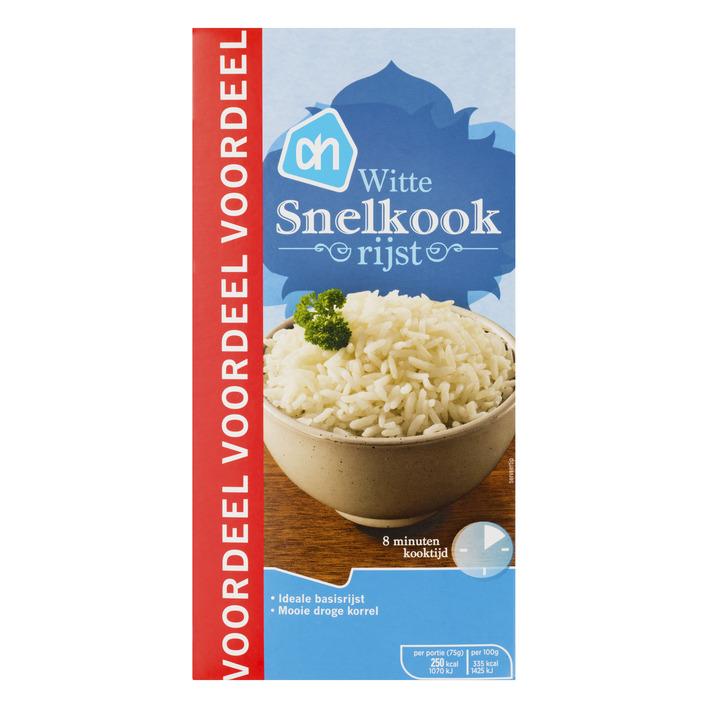 Huismerk Witte snelkook rijst voordeel