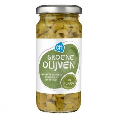 AH Groene olijven in plakjes
