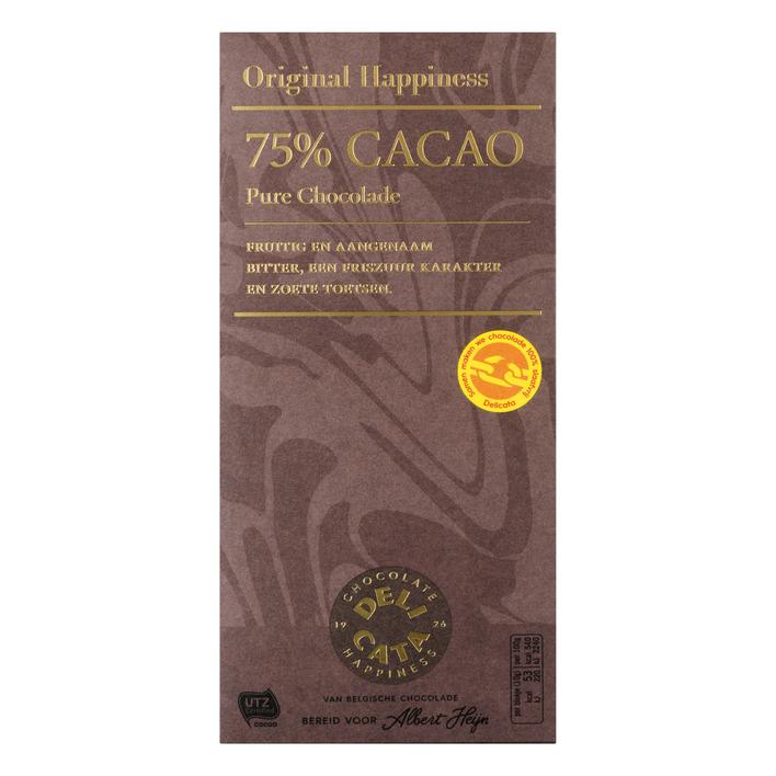 Huismerk Chocolade 75%