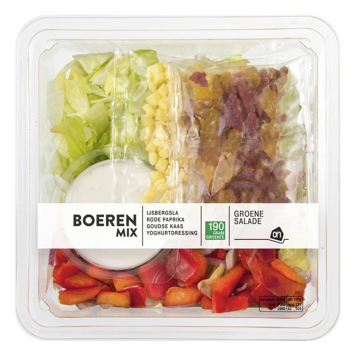 Huismerk Groene salade boerenmix
