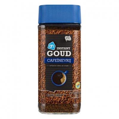 AH Oploskoffie goud melange cafeïnevrij