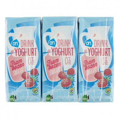 Huismerk Drinkyoghurt frambozen
