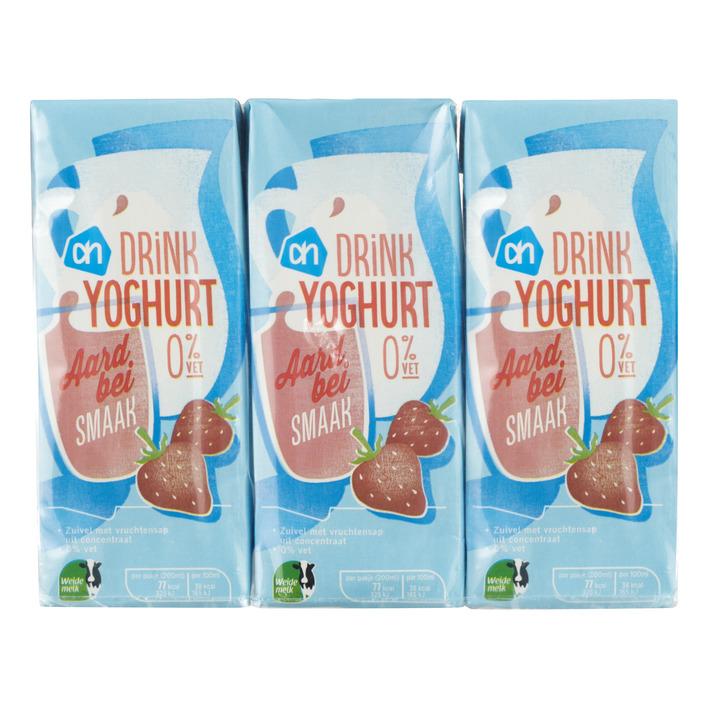 Huismerk Drinkyoghurt aardbei