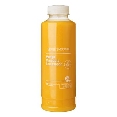 Huismerk Verse smoothie mango maracuja sinaasap