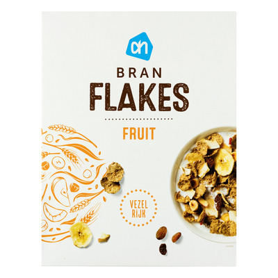 Huismerk Fibre flakes & fruit