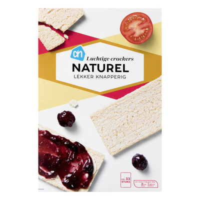 Huismerk Luchtige crackers naturel
