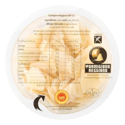 Huismerk Parmigiano Reggiano flakes