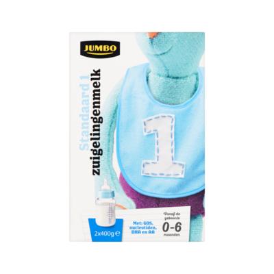 Huismerk Standaard 1 Zuigelingenmelk vanaf de Geboorte 0-6 Maanden