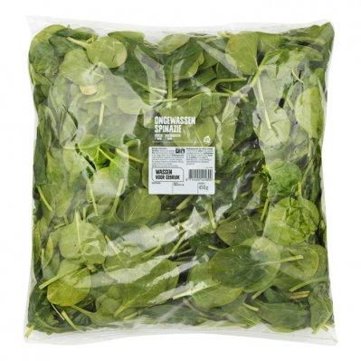 Huismerk Ongewassen spinazie