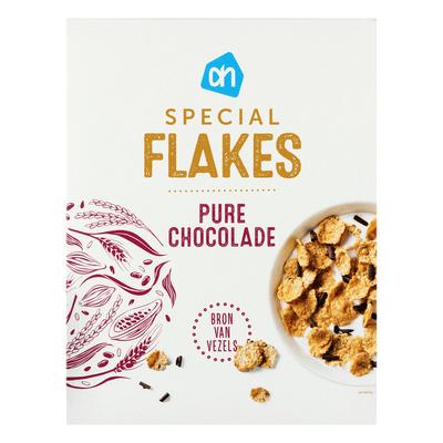 Huismerk Special flakes chocolade