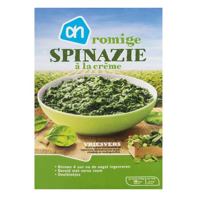Huismerk Spinazie àla crème