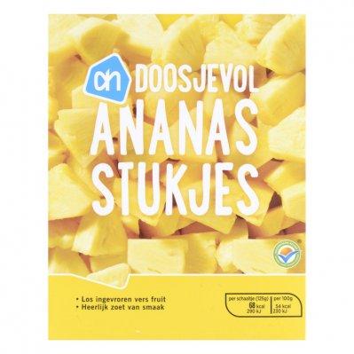 Huismerk Doosjevol ananasstukjes