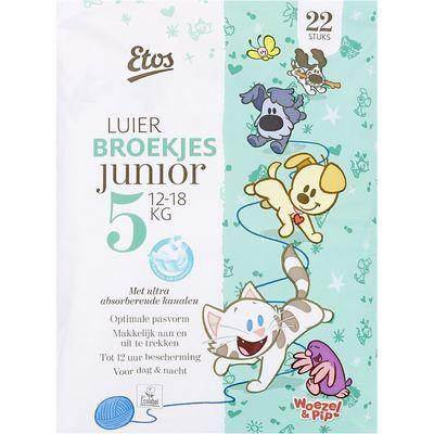 Huismerk Luiers junior 5