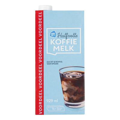 Huismerk Halfvolle koffiemelk voordeel