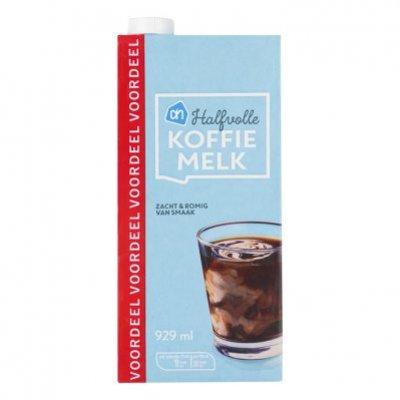 AH Halfvolle koffiemelk voordeel