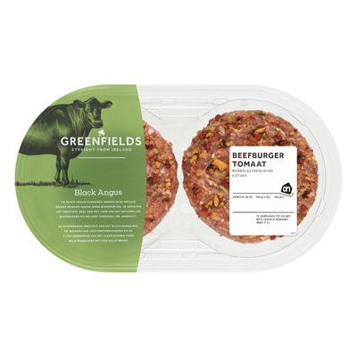 Huismerk Greenfields beefburger tomaat