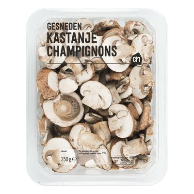 Huismerk Gesneden kastanje champignons