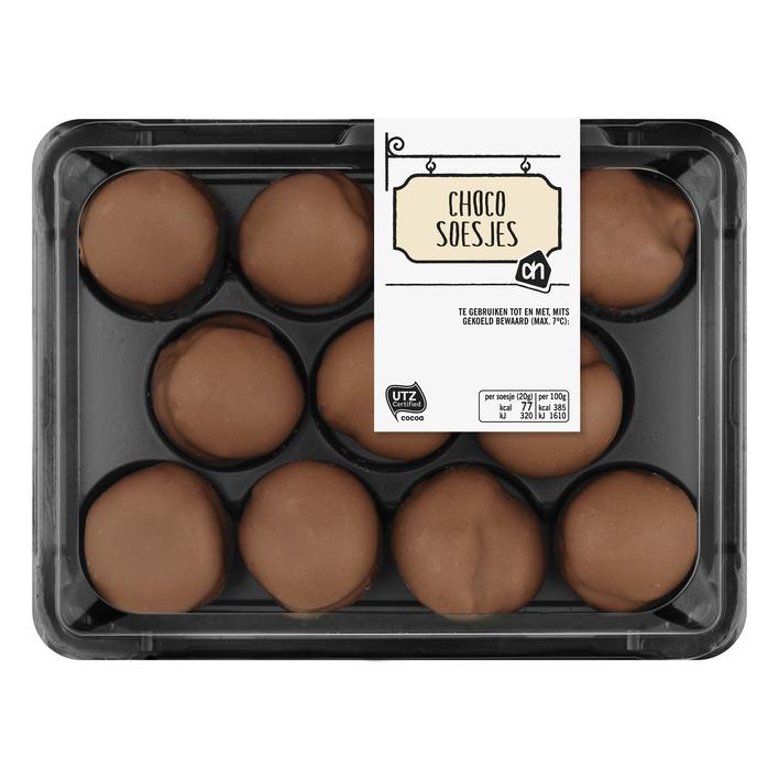 Huismerk Chocoladesoesjes