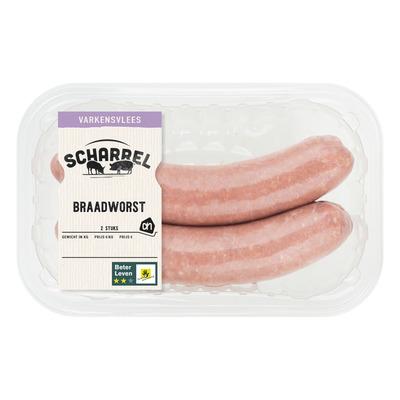 Huismerk Scharrel braadworst