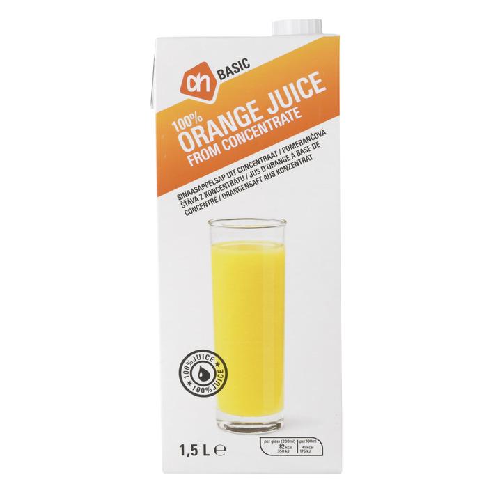 Budget Huismerk Sinaasappelsap