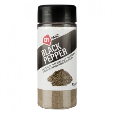 Budget Huismerk Zwarte peper gemalen
